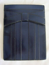 WOMENS AUTH ZAC POSEN SHIRLEY BOW  SLIP IN IPAD MINI SLEEVE STORAGE NWOT BLUE