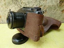 alter Kamera aus Bakelit Marke Photax, antik Fotografie