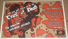 And You Will Know Us By The Trail Of Dead 2005 CONCERT POSTER Octopus Project