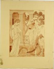 Lithographie de Kuhn Régnier, Oeuvres d'Hippocrate
