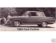 1965 Ford Cortina  Auto  Refrigerator / Tool Box Magnet