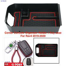 Toyota RAV4 :BOX Center Console Organizer Holder ABS Accessories + Key Case 2
