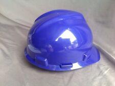 MSA V-gard Safety Hard Hat Class E Type 1  size medium 24  Purple