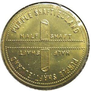 elf Purple Shaftieuland Half Shaft 1970  Brass 1,000 minted