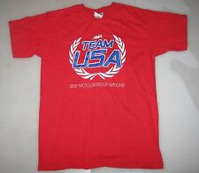 '10 TEAM USA MOTOCROSS OF NATIONS TEAM ONLY ISSUE T-SHIRT S fox racing mxdn mxgp