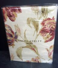 "Laura Ashley Curtains Gosford Paprika 64"" X 54 floral 162cm X 137 New"