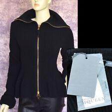 Alexander McQueen New sz L $1645 Designer Womens Sweater Cardigan Jacket black