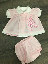 Baby babies girl girls dress dresses  3-5lbs 5-8bs pink white clothes premature