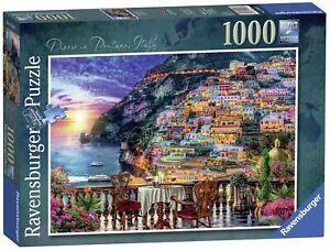 Ravensburger - Positano Italy 1000pc - Jigsaw Puzzle