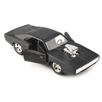 Jada 1970 Dodge Charger Used Under License 1/32 Diecast Vehicles Black Model Toy