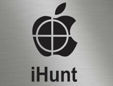 ihunt Hunting Hunter Gun Deer Rabbit Vinyl Window Stickers Decals Van Camper 4x4