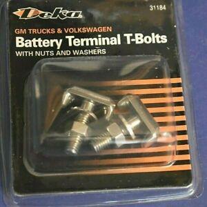 2 Battery Cable Terminal Connector T-Bolt VW Audi Quattro TT Jetta EuroVan Golf