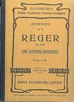 Taschenpartitur : REGER ~ Eine Lustspiel-Ouverture Op. 120