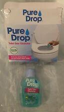 Pure Drop Eco Friendly Toilet Drop Eliminator .67Oz (20Ml) New In Box Green
