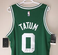 Jayson Tatum Autograph Boston Celtics Signed Nike Swingman (48) Jersey FANATICS