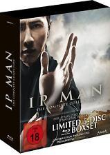IP Man - Complete Colección Parte 1 2 3 Zero Final Fight 5 Blu-Ray Digipak Box