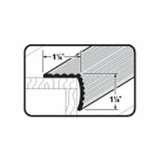 "Stair Edging Fluted 1-1/8"" X 1-1/8"" X 36"" Silver Aluminum-No. 78022"