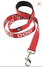 Red Service Dog Leash. B