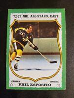 1973-74 Topps #120 Phil Esposito Boston Bruins
