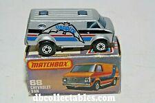 "Matchbox 68e Chevrolet Van,""Vanpire"" Mint in  Original Box"
