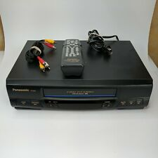 Panasonic PV-9450 Omnivision VCR With Remote VHS Player Tested