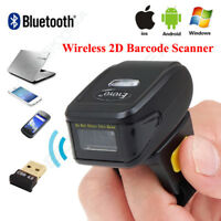 Wireless Bluetooth Barcode Scanner 1D 2D Scanning Supports IOS Android Windows