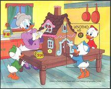 Lesotho 1986 Disney/Christmas/Gingerbread House/Ducks/Cartoons 1v m/s (n14470)