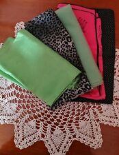 Lotto 5 foulard sciarpa fazzoletto da collo donna vintage e37b758c3852
