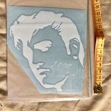 Car Window decal - Elvis Presley Silhouette #2- Vinyl sticker Laptop, Door