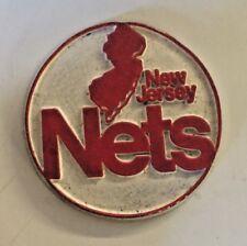 Vintage Nba New Jersey Nets Logo Magnet National Basketball Association Sports