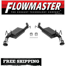 """Flowmaster 2.5"""" Dual Axle Back Exhaust System For 2010-2015 Chevy Camaro 3.6L V6"""