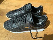 PUMA King Avanti Premium Leather Gr.44.5 US 11 UK 10 black / white 365482 03