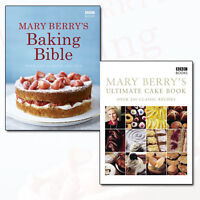 Mary Berry's 2 Books Collection Set ,Ultimate Cake Book & Baking Bible
