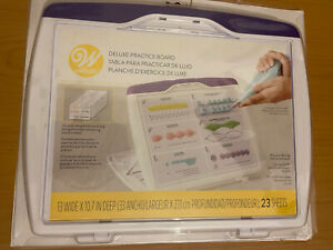 Wilton Deluxe Cake Decorating Practice Board Perfect For Practicing Your Shapes!