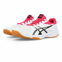 Asics Womens Gel-UpCourt 3 Indoor Court Shoes White Sports Squash Breathable