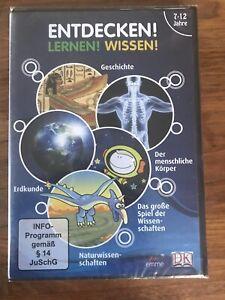 LERN DVD - ENTDECKEN LERNEN WISSEN 7-12 JAHRE - NEU + OVP - UNBEDINGT ANSEHEN!!!