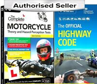 2020 Motorcycle/Motorbike  Theory & Hazard Tests PC DVD-Rom - HW Code Book