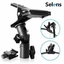 Selens Metal Photo Studio Clamp Clip Holder for Reflector Background Light Stand