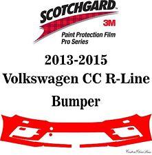 3M Scotchgard Paint Protection Film Pro Series 2013 - 2015 Volkswagen CC R-Line