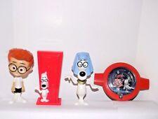 Mr Peabody & Sherman Egyptian Bobble Head +Peabody/WaBac Mazes~2014 McDonald Toy