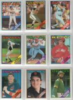 1988 Topps Baseball Team Sets **Pick Your Team**