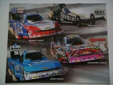 Team Force Racing - John, Courtney, Brittany & Robert Nhra Handout