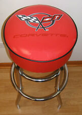 Corvette Red Flag Racing Bar Stool Stools - NEW