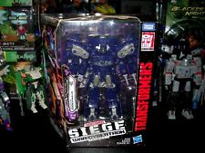 SHOCKWAVE TRANSFORMERS GENERATIONS WAR FOR CYBERTRON: SIEGE LEADER CLASS WFC-S14
