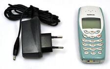 Nokia 3410 NHM-2NX NHM 2NX Handy mini SIM 18Tasten GSM 900 1800 hellblau weiß