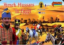 Strelets Models 1/72 NAPOLEONIC FRENCH HUSSARS IN EGYPT Figure Set