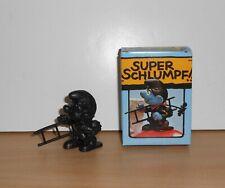Super Smurf 40202 Schlumpf Rohling Sweep Schornsteinfeger Peyo BOX Schleich