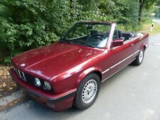 BMW  E30  318 i Cabrio  rot Met.  Bj 92 TÜV / AU neu - mit Hardtop