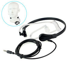 New 1 Pin 3.5mm Throat MIC Headset Covert Air Tube Earpiece for iPhone Samsung