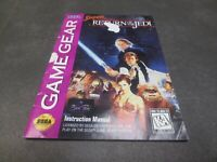 Super Star Wars: Return of the Jedi (Sega Game Gear, 1995) Manual
